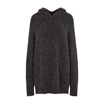 Strik hoodie fra Second Female