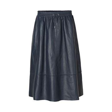 Læder nederdel fra Samsøe Smasøe