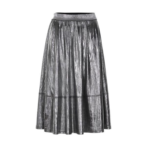 Sølv nederdel fra Nümph