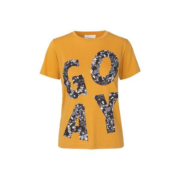 Milo gul t-shirts fra stine goya