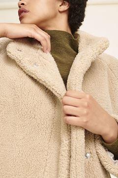 Faux fur jakke fra Samsøe Samsøe