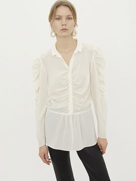 Feminin bluse fra By Malene Birger