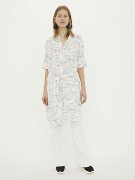 Mønstret kjole fra By Malene Birger