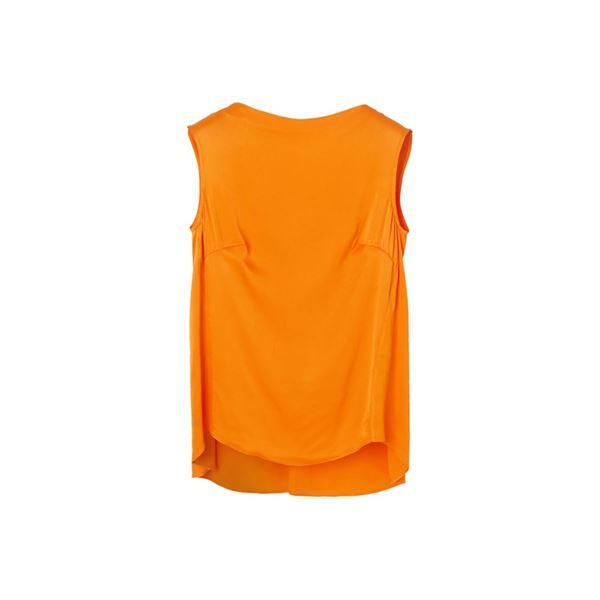 Orange top fra By Malene Birger