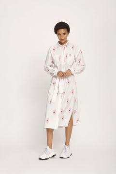 cora pink kjole fra samsøe samsøe
