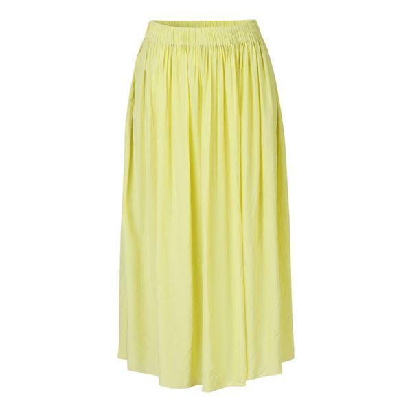 Nadia gul nederdel fra Samsøe Samsøe