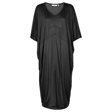 Kimber sort t-shirt kjole fra Nümph