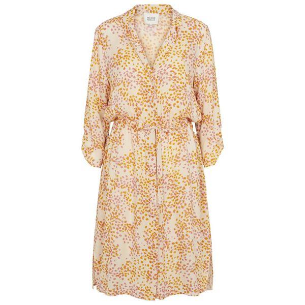 Dandelion shirt dress fra Second Female
