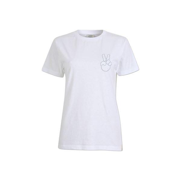 Jolee t-shirt i hvid fra Baum und Pferdgarten