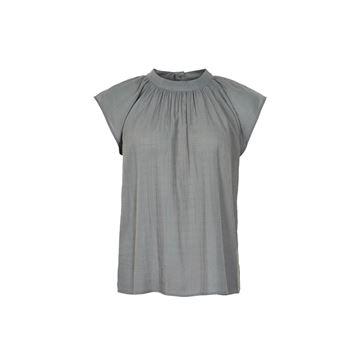 Paole bluse i grå fra And Less