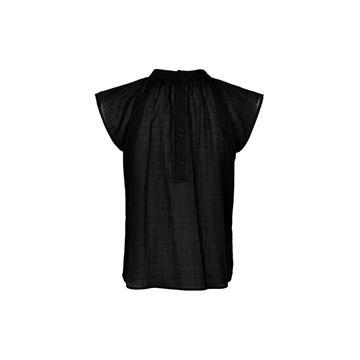 Oriea bluse i sort fra And Less