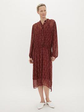 kjole med ansigter fra By Malene Birger