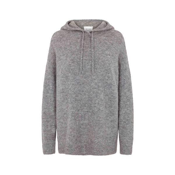 Maville knit hoodie fra Second Female