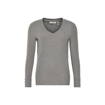 Alorsino bluse i grå fra And Less