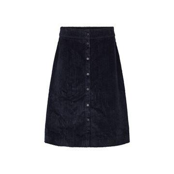 Corduroy nederdel fra Just Female