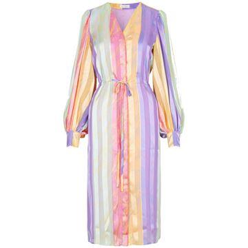 violet kjole fra stine goya