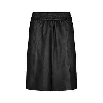 Melvin læder nederdel fra Second Female