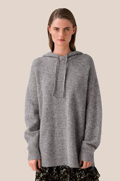 Maville knit hoodie fra Second Female