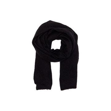 nila tørklæde i sort fra MSCH