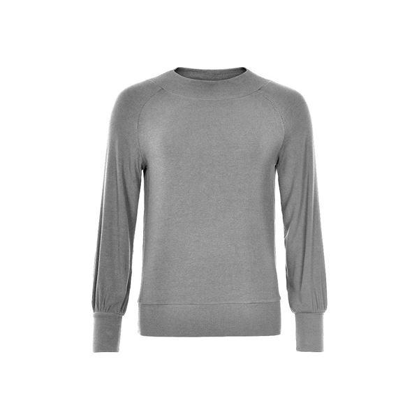 Alenniea bluse i grå fra And Less