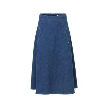 indigo nederdel fra mads nørgaard