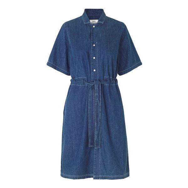 indigo daima kjole fra mads nørgaard