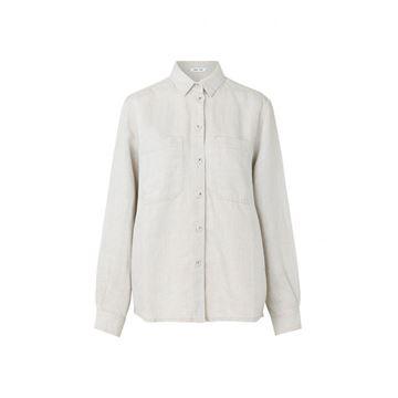 manz skjorte fra Samsøe Samsøe