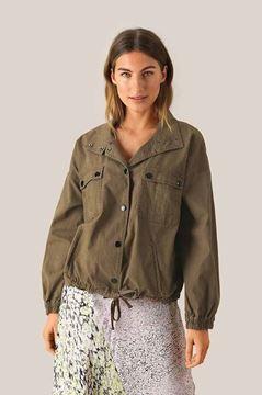 Sage jakke fra Second Female