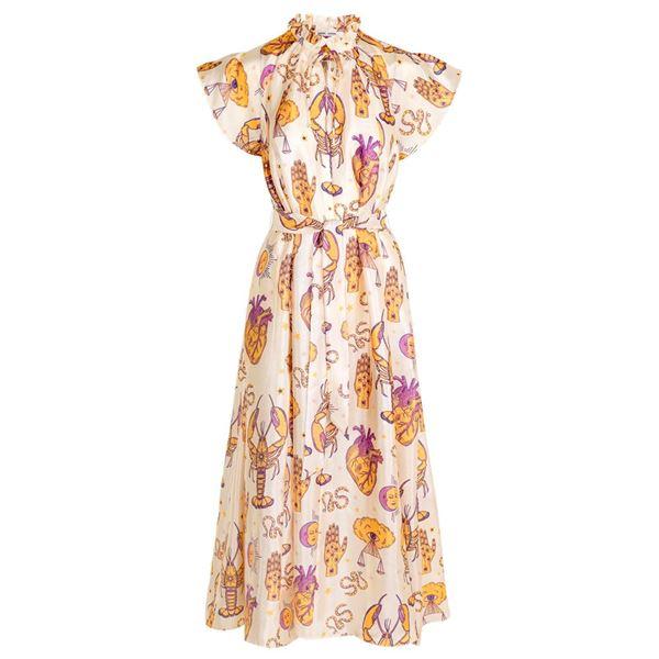 karookh kjole fra samsøe samsøe