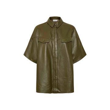 Alana skindskjorte fra Gestuz