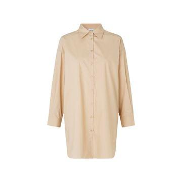 Larkin oversize skjorte fra Second Female