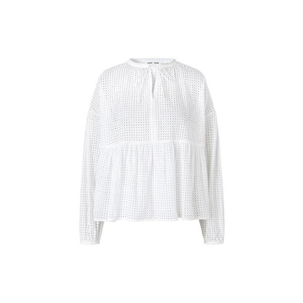 royasine bluse fra samsøe samsøe