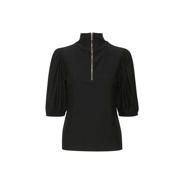 Rifa Zipper bluse fra Gestuz